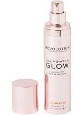 MAKEUP REVOLUTION - Illuminate & Glow Skin Perfector Gold - Highlighter
