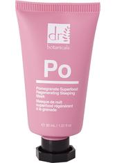Dr Botanicals Produkte Granatapfel Superfood Regenerierende Feuchtigkeitsmaske 98% natürlich Feuchtigkeitsmaske 30.0 ml