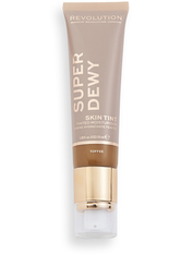 MAKEUP REVOLUTION - Superdewy Tinted Moisturiser Toffee - Bb - Cc Cream