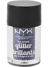 NYX Professional Makeup Glitter Brilliants Face & Body Glitzer 2.5 g Nr. 11 - Violett