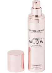 MAKEUP REVOLUTION - Illuminate & Glow Skin Perfector Champagne - Highlighter