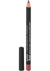 NYX PROFESSIONAL MAKEUP - NYX Professional Makeup Soft Matte Metallic Lip Cream (verschiedene Farbtöne) - Cannes - LIPLINER