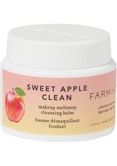 FARMACY Sweet Apple Clean Makeup Meltaway Cleansing Balm