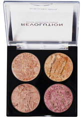MAKEUP REVOLUTION - Revolution - Makeuppalette - Cheek Kit Fresh Perspective - Highlighter