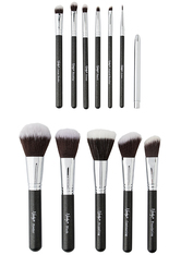 NANSHY - Masterful 12 Piece Brush Collection  Onyx Black - MAKEUP PINSEL