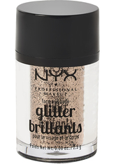 NYX Professional Makeup Glitter Brilliants Face & Body Glitzer 2.5 g Nr. 08 - Bronze