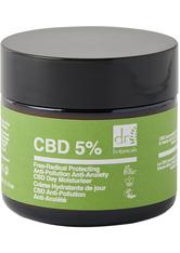 Dr. Botanicals CBD 5% Free-Radical Protecting Anti-Pollution Anti-Anxiety CBD Day Moisturizer Tagescreme 60 ml