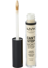 NYX Professional Makeup Can't Stop Won't Stop Contour Concealer (Various Shades) - Pale