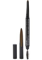 NYX Professional Makeup Precision Brow Pencil Augenbrauenstift  0.13 g Nr. 04 - Ash Brown