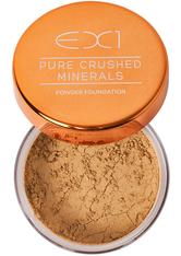 EX1 COSMETICS - EX1 Cosmetics Pure Crushed Mineral Puder Foundation 8gr (verschiedene Nuancen) - 6.0 - Gesichtspuder