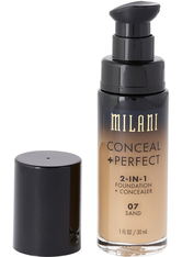 MILANI - Conceal And Perfect 2 In 1 Foundation And Concealer  Sand - FOUNDATION