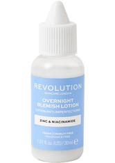 REVOLUTION SKINCARE - Overnight Blemish Lotion - PICKELPFLEGE
