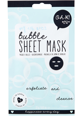 Oh K! Exfoliate & Cleanse Bubble Sheet Face Mask