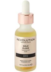 Revolution - Gesichtsöl - Skincare Gold Elixir Rosehip Seed Oil
