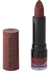 Makeup Revolution Matte Lipstick White Wedding 114