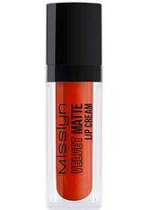 MISSLYN - Misslyn Velvet Matte Lip Cream Lippenstift Happy-Go-Lucky 12 4 ml Lipgloss - Lippenstift