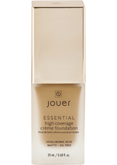 JOUER COSMETICS - Essential High Coverage Creme Foundation - Caramel - FOUNDATION