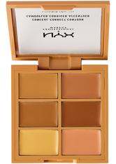 NYX Professional Makeup 3C Conceal, Correct, Contour Concealer Palette 9 g Nr. 02 - Medium