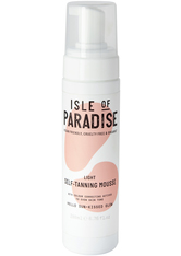 Isle of Paradise Selbstbräuner Light Self-Tanning Mousse Selbstbräunungsschaum 200.0 ml