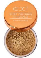EX1 COSMETICS - EX1 Cosmetics Pure Crushed Mineral Puder Foundation 8gr (verschiedene Nuancen) - 8.0 - Gesichtspuder
