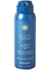 Soleil Toujours Sonnenpflege Soleil Toujours Organic Sheer Sunscreen Mist SPF 30 Travel Size Sonnencreme 88.0 ml