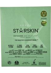 STARSKIN - The Master Cleanser Detox Sea Kelp Leaf Face Mask - CREMEMASKEN