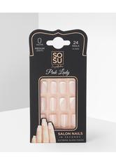False Nails Pink Lady