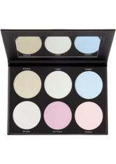 BH COSMETICS - BH Cosmetics - Highlighterpalette - Blacklight Highlight 6 Color Palette - HIGHLIGHTER
