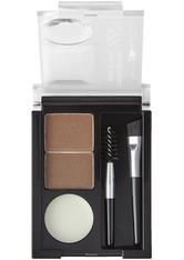 NYX Professional Makeup Eyebrow Cake Powder Augenbrauenpuder  2.7 g Nr. 02 - Dark Brown/brown