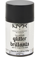 NYX PROFESSIONAL MAKEUP - NYX Professional Makeup Glitter Brilliants Face & Body Glitzer  2.5 g Nr. 07 - Ice - LIDSCHATTEN