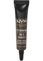 NYX Professional Makeup Eyebrow Gel Augenbrauengel  10 ml Nr. 05 - Black