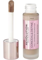MAKEUP REVOLUTION - Makeup Revolution - Foundation - Conceal & Define Foundation F10.5 - FOUNDATION