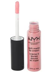 NYX Professional Makeup Soft Matte Lip Cream Liquid Lipstick 8 ml Nr. 06 - Istanbul