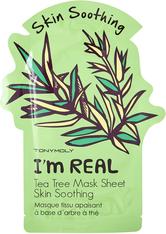 TONYMOLY - I'm Real Tea Tree Mask Sheet Skin Soothing - TUCHMASKEN