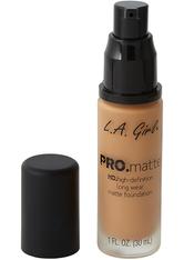 L.A. Girl - Foundation - Pro Matte - HD Long Wear Matte Foundation - 679 Warm Sienna