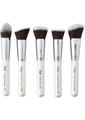 NANSHY - Gobsmack Glamorous 5 Piece Brush Collection Pearlescent White - MAKEUP PINSEL