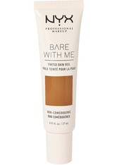 NYX PROFESSIONAL MAKEUP - NYX Professional Makeup Bare With Me Tinted Skin Veil Flüssige Foundation  27 ml Nr. 09 - Deep Sable - BB - CC CREAM