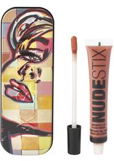 NUDESTIX Magnetic Lip Plush Paints 10ml (Various Shades) - Waikiki Rose