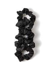 Satin Sleep Scrunchies Black