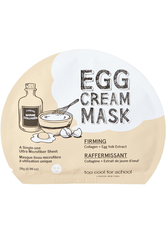 TOO COOL FOR SCHOOL - TOO COOL FOR SCHOOL MASKEN EGG CREAM MASK FIRMING 28 g - TUCHMASKEN