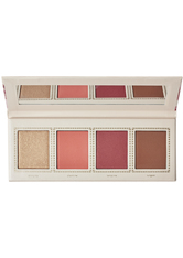 JOUER COSMETICS - Champagne & Macarons Face Palette Cheeky Crush - Rouge