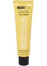 NUDESTIX - Nudestix NUDESKIN Nudestix NUDESKIN Citrus-C Mask & Daily Moisturizer Gesichtscreme 60.0 ml - Tagespflege