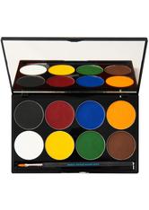 MEHRON - Paradise Makeup AQ 8 Color Palette Basic - Lidschatten