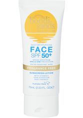 Bondi Sands Sonnenschutz SPF 50+ Face Lotion Fragrance Free Sonnencreme 75.0 ml