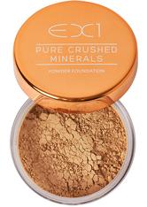 EX1 COSMETICS - EX1 Cosmetics Pure Crushed Mineral Puder Foundation 8gr (verschiedene Nuancen) - 7.0 - Gesichtspuder