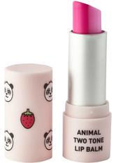 Animal TwoTone Lip Balm Strawberry Panda