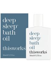 This Works Produkte Deep Sleep Bath Oil Badezusatz 50.0 ml