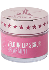 JEFFREE STAR COSMETICS - Velour Lip Scrub - Spearmint - LIPPENPEELING