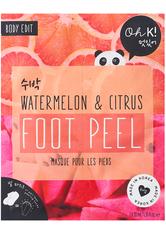 Oh K! Fußpflege Oh K! Fußpflege Watermelon & Citrus Foot Peel Fusspeeling 40.0 ml