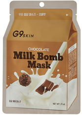 G9SKIN - G9SKIN Milk Bomb Mask - Chocolate 21 ml - TUCHMASKEN